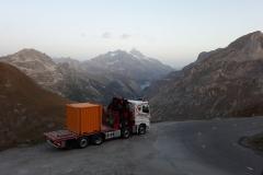 Transport de container
